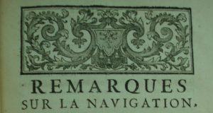 M. de Radouay, 'Remarques sur la navigation' (Paris, 1727)